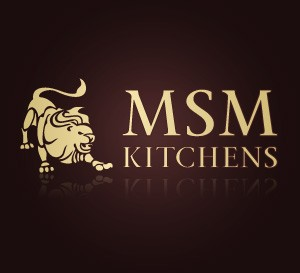 MSM Kitchens logo by Qchar Design