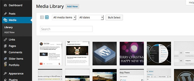 WordPress 4.0 Media Library Grid & Seamless Media Embeds