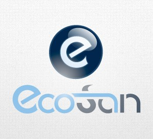 Eco San logo by Qchar Design