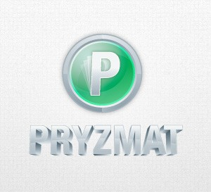 Pryzmat logo by Qchar Design