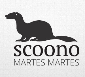 Scoono logo by Qchar Design